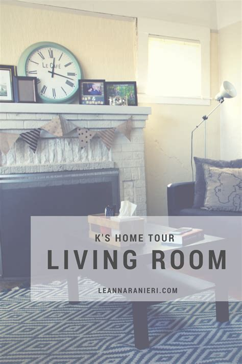 the living room tour k s home tour living room change with us