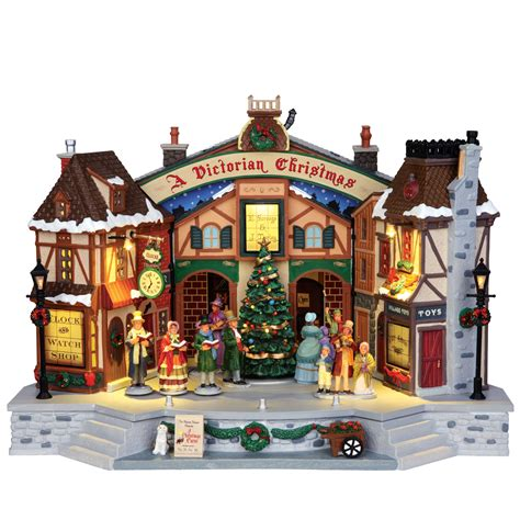lemax village collection christmas village building a