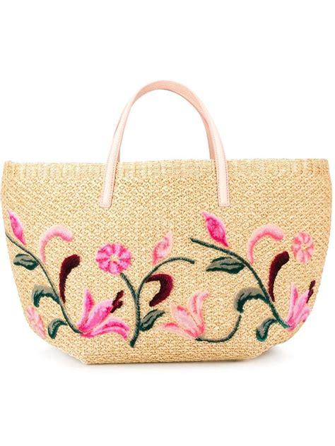 borse con fiori borse in paglia estate 2016 foto 12 27 bags stylosophy