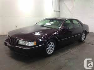 1997 Cadillac Seville Sts 1997 Cadillac Seville Sts Sedan For Sale In Saskatoon