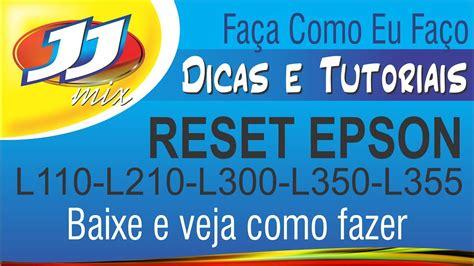 reset epson l355 almofada reset almofadas epson l110 l210 l300 l350 l355