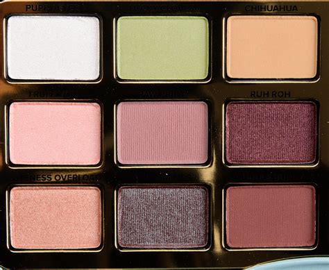 Faced Palette faced clover eyeshadow palette review photos swatches temptalia howldb