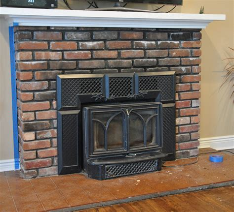 Fireplace Tile Grout by Fireplace Makeover The The Bad The