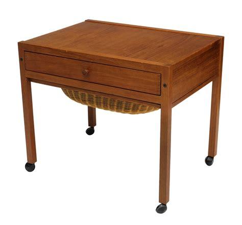 mid century modern work table mid century modern rolling work table july mid