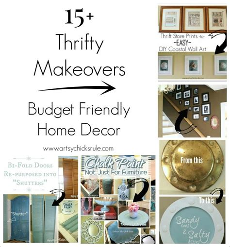 thrifty home decorating blogs thrifty find makeovers budget friendly decor artsy rule 174