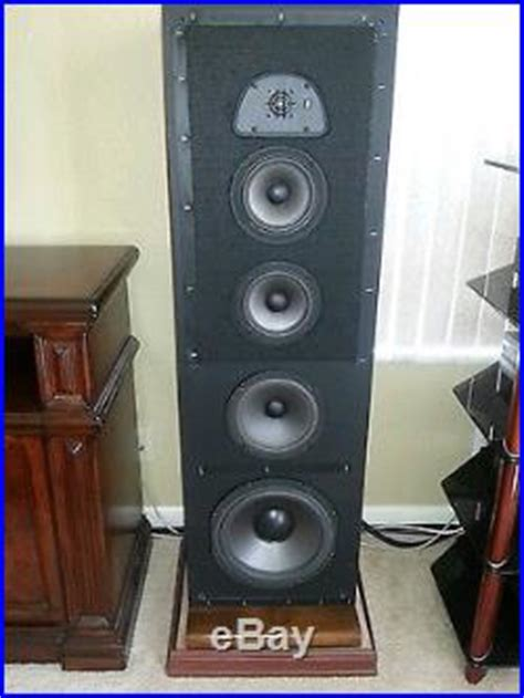 acoustic research ar tsw  tower speakers acoustic