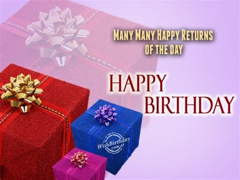 Wish You Many Many Happy Birthday Many Many Happy Returns Of The Day Wishbirthday Com