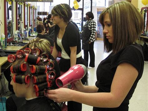 his hair in rollers roller setting his hair newhairstylesformen2014 com