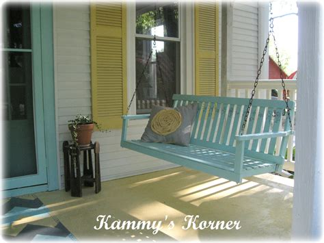 sittin on the front porch swing kammy s korner where i come from a lot of front porch