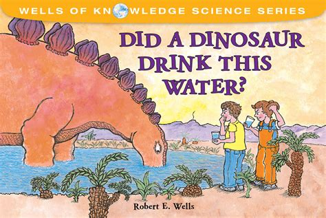 drink this water books did a dinosaur drink this water albert whitman company