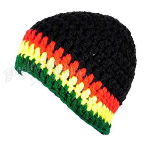 Rasta Home Decor by Handmade Rasta Crochet Hat Rastaempire Com