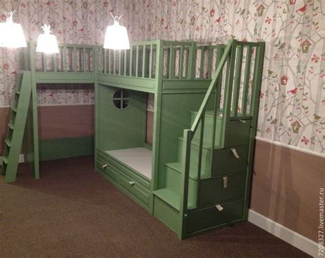 bunk bed with play area underneath 7 the bunk bed with play area shop online on livemaster with shipping