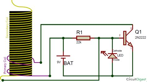 tesla coil schematic wiring diagram mini tesla coil