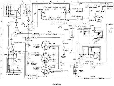 1973 mustang alt wiring diagram alt free