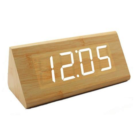Led Digital Wood Clock Jk 828 led digital wood clock jk 838 brown jakartanotebook