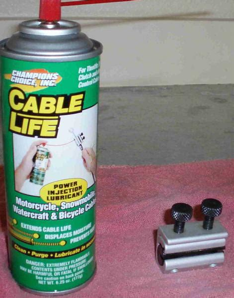 boat steering cable lubrication tool تـعـلـم صــيــآنـة ســيـآرتــك وأجـهـزتـك بـنـفــسـك diy
