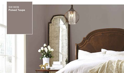 sherwin williams selects poised taupe   color