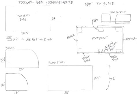 Toddler Bed Measurements by Chris And Sonja The Sweet Seattle Diy Toddler Bed