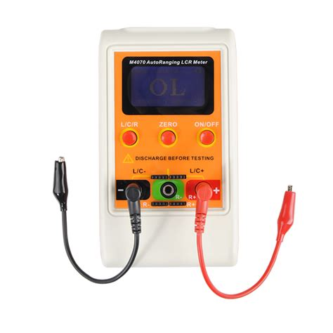 pic inductor meter professional m4070 handheld lcr bridge capacitance inductance meter alex nld