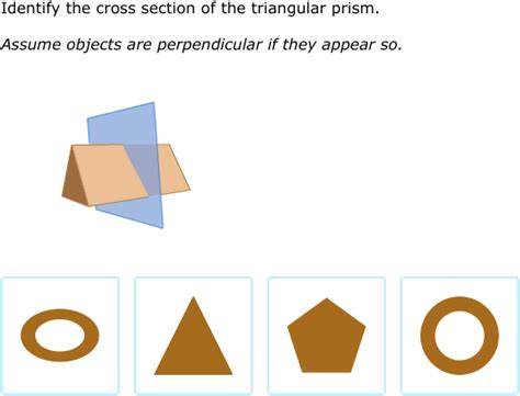 Cross Sections Of Solid Figures by Ixl Cross Sections Of Three Dimensional Figures