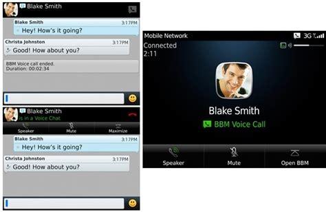 blackberry messenger bbm on wifi bbm voice introduced make free voice calls wi fi to