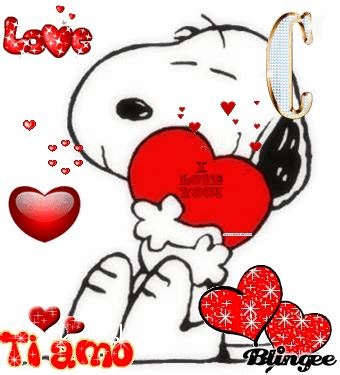 imagenes de i love you animadas amor de snoopy picture 92431496 blingee com