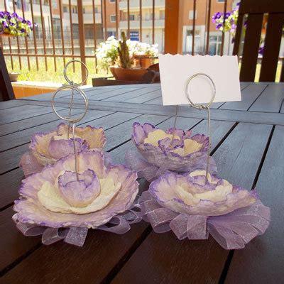 fiore di cartapesta segnaposto fiore cartapesta feste matrimonio di