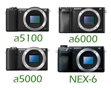 For Sony A5000 A5100 sony a5100 vs a6000 vs a5000 vs nex 6 specs comparison