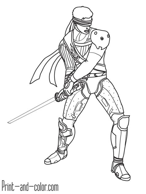 mortal kombat x coloring pages mortal kombat coloring pages print and color