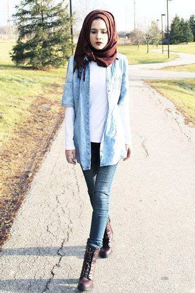 Kemeja Hitam Wanita Polos Risu Strit Panjang tanpa harus melepaskan jilbab 6 gaya berbusana lengan