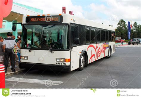 theme park express tx2 bus bus in disney resort editorial photography image 35378507