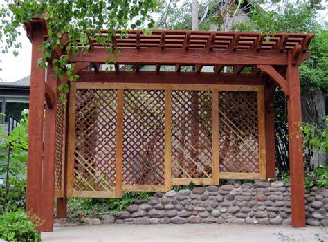 Backyard Cottage Kits arbors and trellises timber kits western timber frame