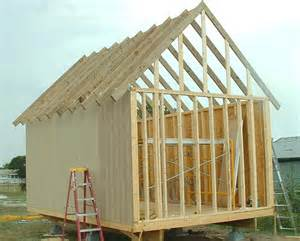 shed roof framing basics quotes