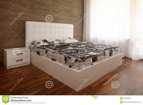 weisses schlafzimmer wei 223 es schlafzimmer stockfoto bild 18583580