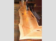 Live Edge Bar Top — Innovative Craftsman Wood Bar Background