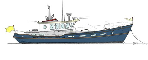 boat plans trawler outboard boat plans rans