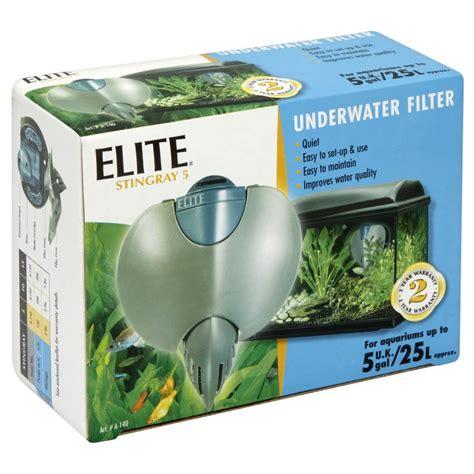 under water filter elite stingray 5 underwater filter at wilko com