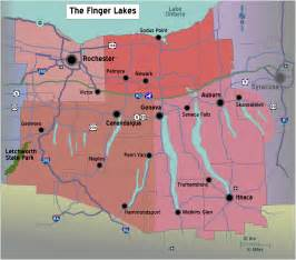 Finger Lakes New York Map file new york finger lakes region map with road shields png