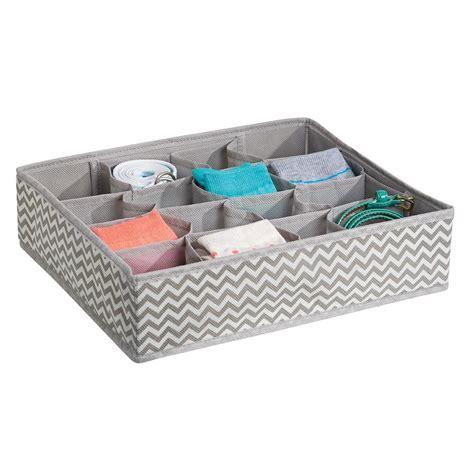 Fabric Drawer Organizer by Interdesign Chevron Fabric Storage Dresser