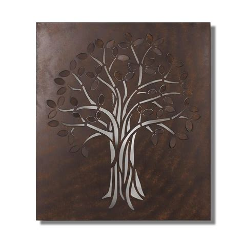 metal ornaments home decor home decorators collection 32 in multi colored metal wall