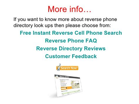 Free Phone Number Lookup Information How To Get A Free Phone Directory Search