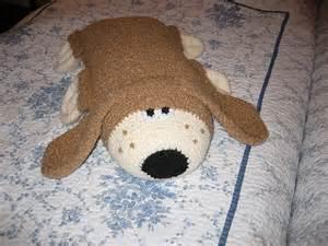 hound pillow pattern free crochet pets
