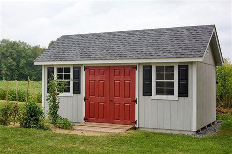 craft sheds 10x18 fairmont storage shed kits yardcraft