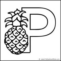 letter p coloring pages the letter p coloring page