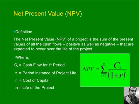 Modified Npv Definition by New Approach To Npv