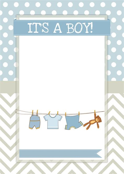 baby boy shower templates baby boy shower invite abby and kevin baby