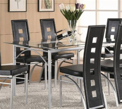 coaster glass dining table 5 best glass kitchen tables easy to clean and care