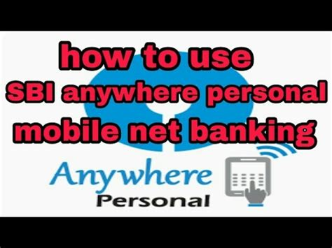 how to new sbi anywhere personal app and sbi freedom app