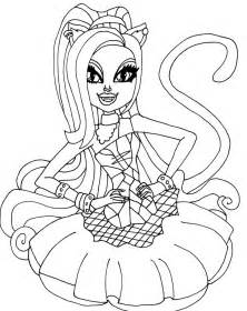 gallery gt monster coloring pages catty noir