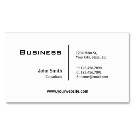 plain business card template pdf 17 best images about plain minimalist business cards on